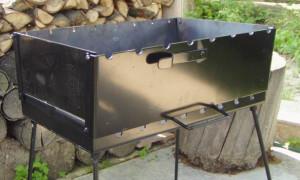 Как правильно сделать кирпичный и металлический мангал