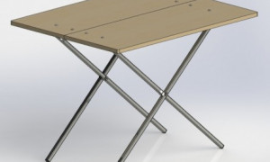 Инструкция по созданию раскладного столика своими руками