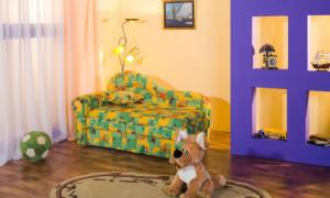 Детский диван своими руками: от чертежа до обивки