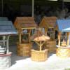 Изготовление своими руками декоративного деревянного колодца