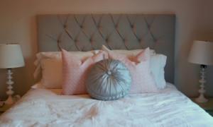 Два варианта самостоятельного создания мягкого изголовья кровати