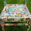 Декорирование стула методом декупажа