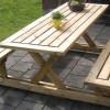 Две инструкции по изготовлению деревянных столов