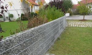 Делаем забор и габион из рабицы самостоятельно