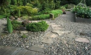Как самостоятельно сделать гравийный сад