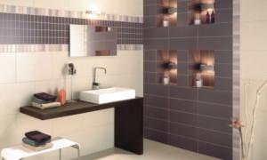 Способы укладки кафельной плитки в ванной