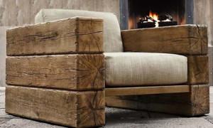 Как самостоятельно изготовить кресло из дерева