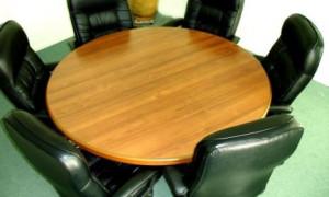 Как своими руками сделать круглый раздвижной стол
