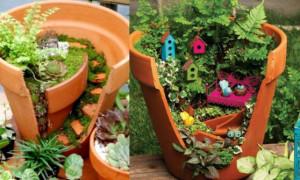 Декоративные поделки для сада своими руками