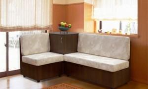 Как своими руками сделать кухонный диван?