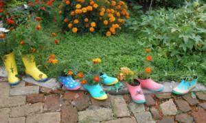 Делаем поэтапно кашпо для сада своими руками