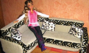 Делаем мебель для кукол своими руками