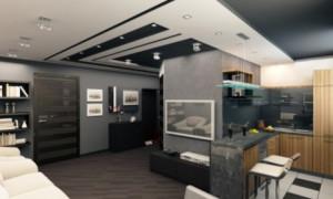Как сделать отделку квартиры студии: фото и видео