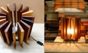 Как сделать деревянные светильники?