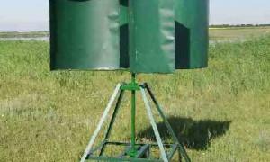 Как сделать вертикальный ветрогенератор своими руками?