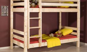 Как сделать двухъярусную кровать своими руками?