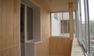 Отделка балкона внутри: фото и видео