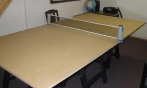 Делаем теннисный стол своими руками