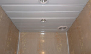 Особенности устройства потолка из пластиковых панелей ПВХ