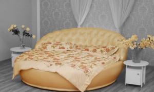 Как самостоятельно собрать круглую кровать?