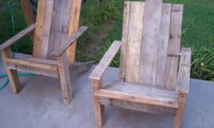 Как своими руками сделать кресло для сада?