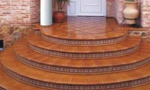 Керамическая плитка для наружных работ