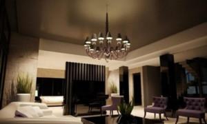 Темные потолки: преимущества и применение