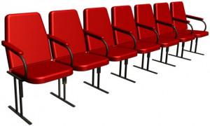Кресла для залов: особенности конструкции и выбора
