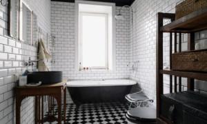 Лофт: в чём особенности оформления ванных комнат?