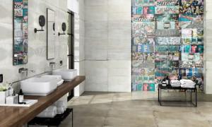Самые яркие варианты использования керамической плитки в интерьере дома, представленные на Cevisama 2017