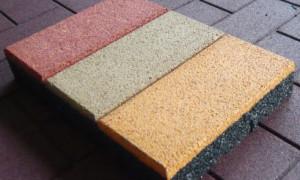 Как делают резиновую плитку?
