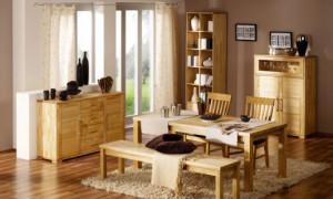 Мебель из массива на заказ – особенности и преимущества