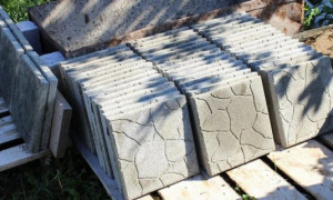 Как сделать своими руками тротуарную плитку