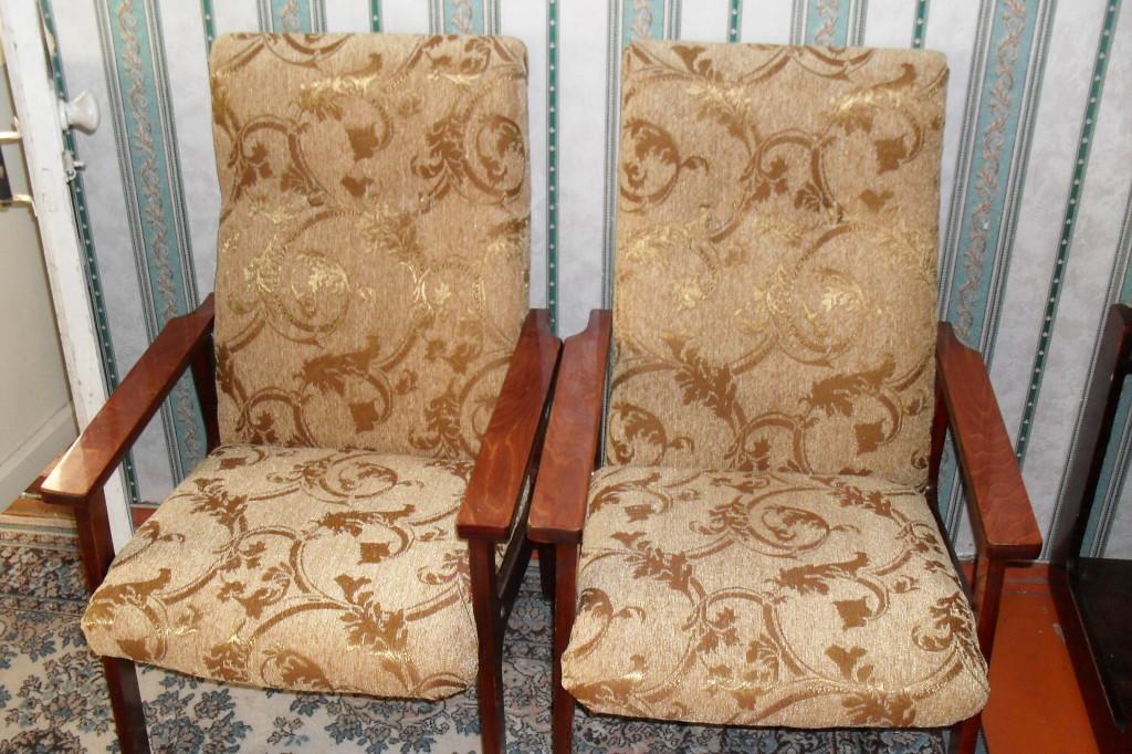 Чехлы на старые кресла своими руками 13
