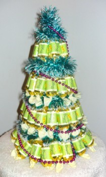 елка из шеколадных конфет