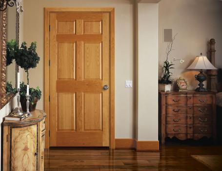 ламинированные деревянные двери