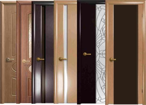деревянная, стальная и стеклянная дверь - подборка