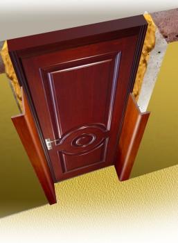 откосы двери в разрезе