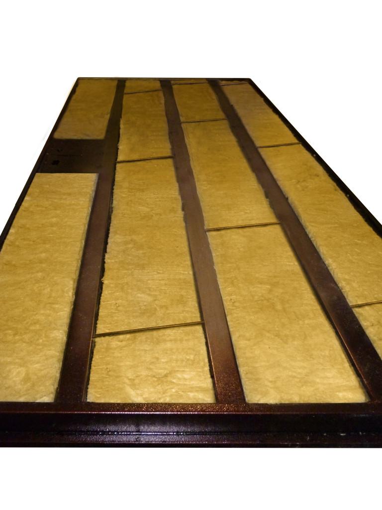 двери металлические с шумоизоляцией минеральная вата