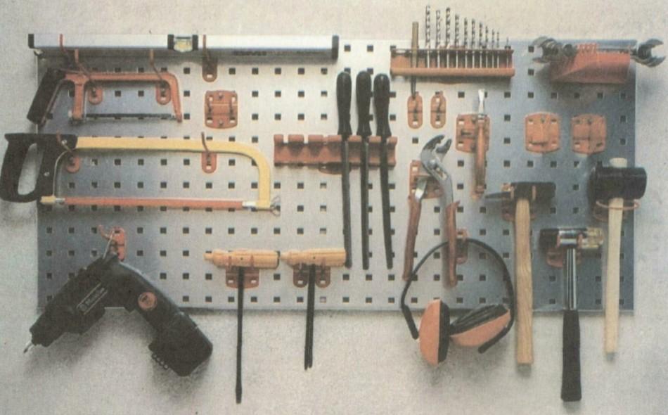 Уголок для инструментов своими руками.