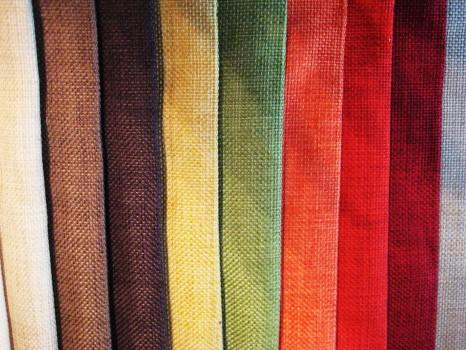 Разноцветные ткани для гамака