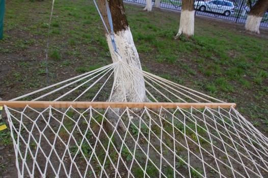 Плетеный гамак