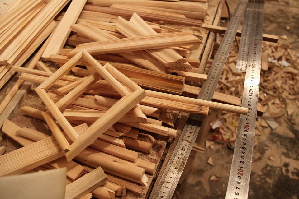 Деревянная рейка своими руками