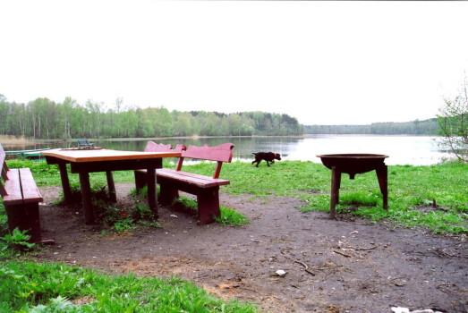 Вкопаннный столик