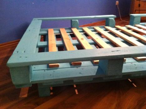 Кровать с коробом под матрас