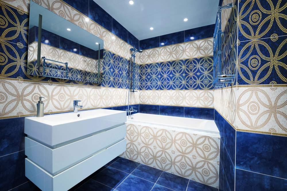 Как выбрать плитку для ванной комнаты дизайн
