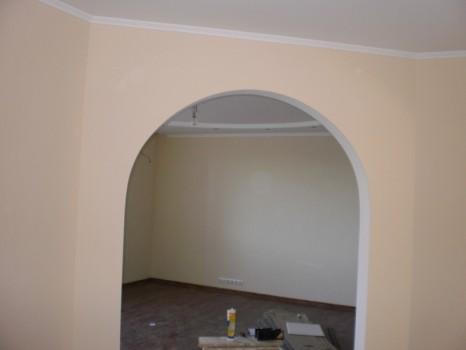 Варианты самостоятельной отделки арки в квартире