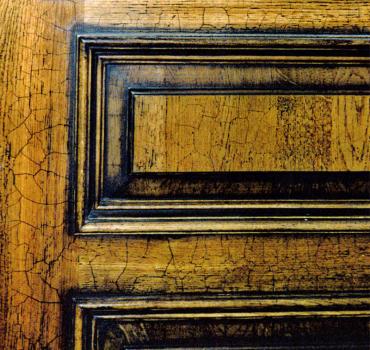 Кракелюр двери