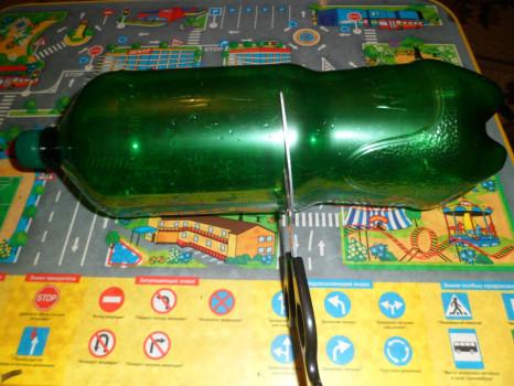 Разрезание бутылки