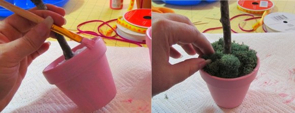 Как сделать горшочки в домашних условиях